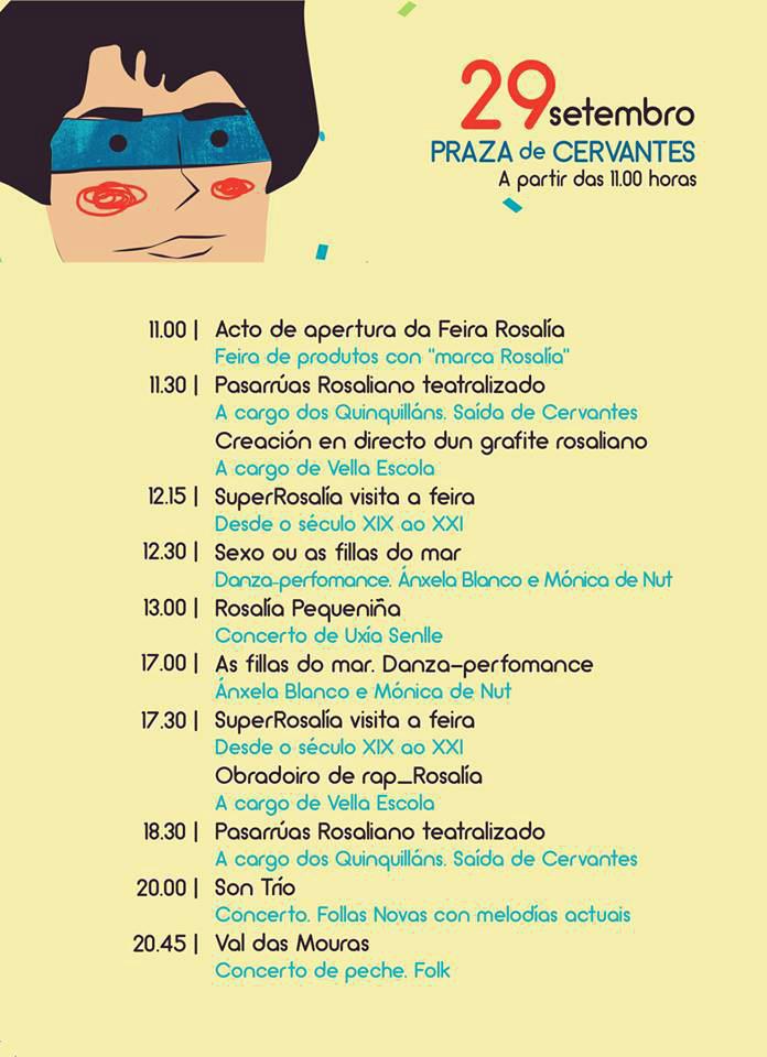 II Festival Rosalía @ Praza de Cervantes