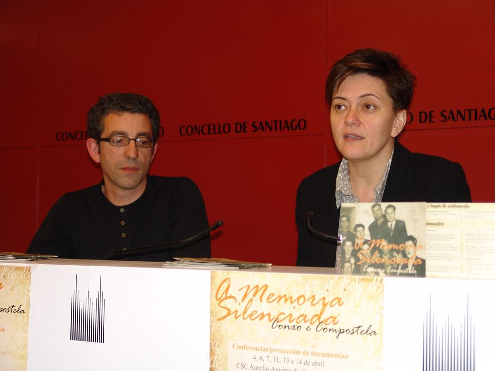 Socorro García Conde e Xulio Noia presentaron o programa.