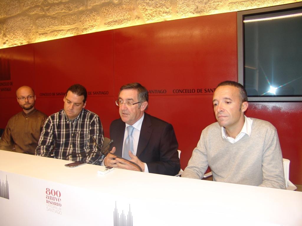 Aleš Brezina, David Dittrich, Ángel Currás e José Víctor Carou.