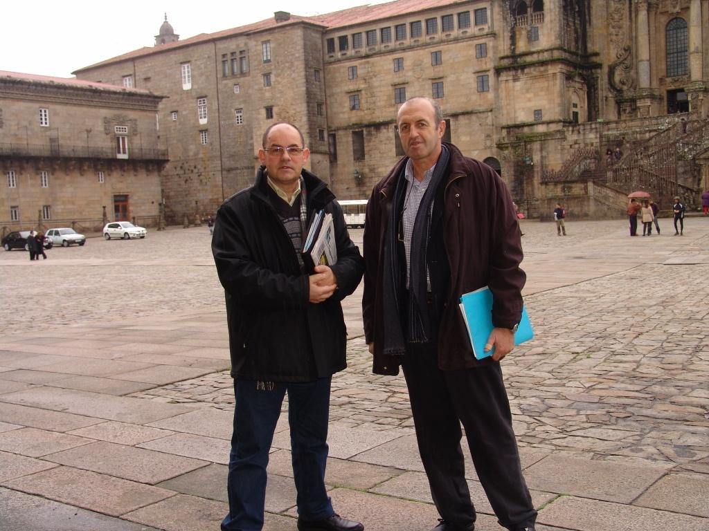 Albino Vázquez e Jesús Pena presentaron as novas tarifas para 2012.
