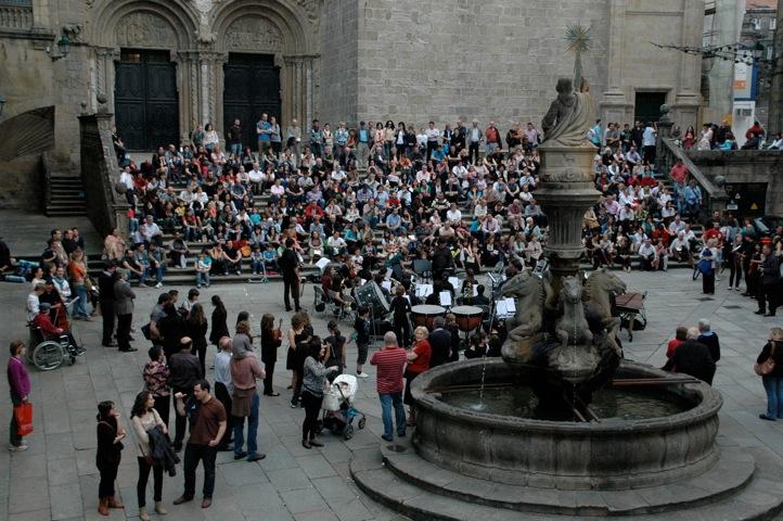 Vista xeral do concerto de Praterías.