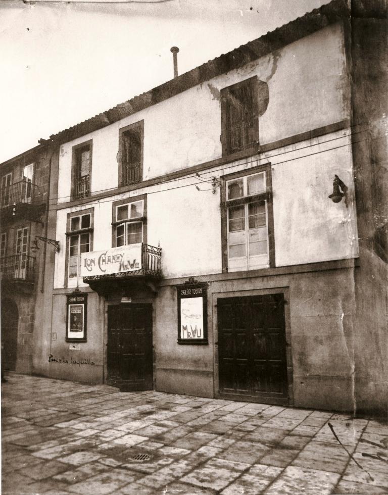 Fachada do Teatro en 1930