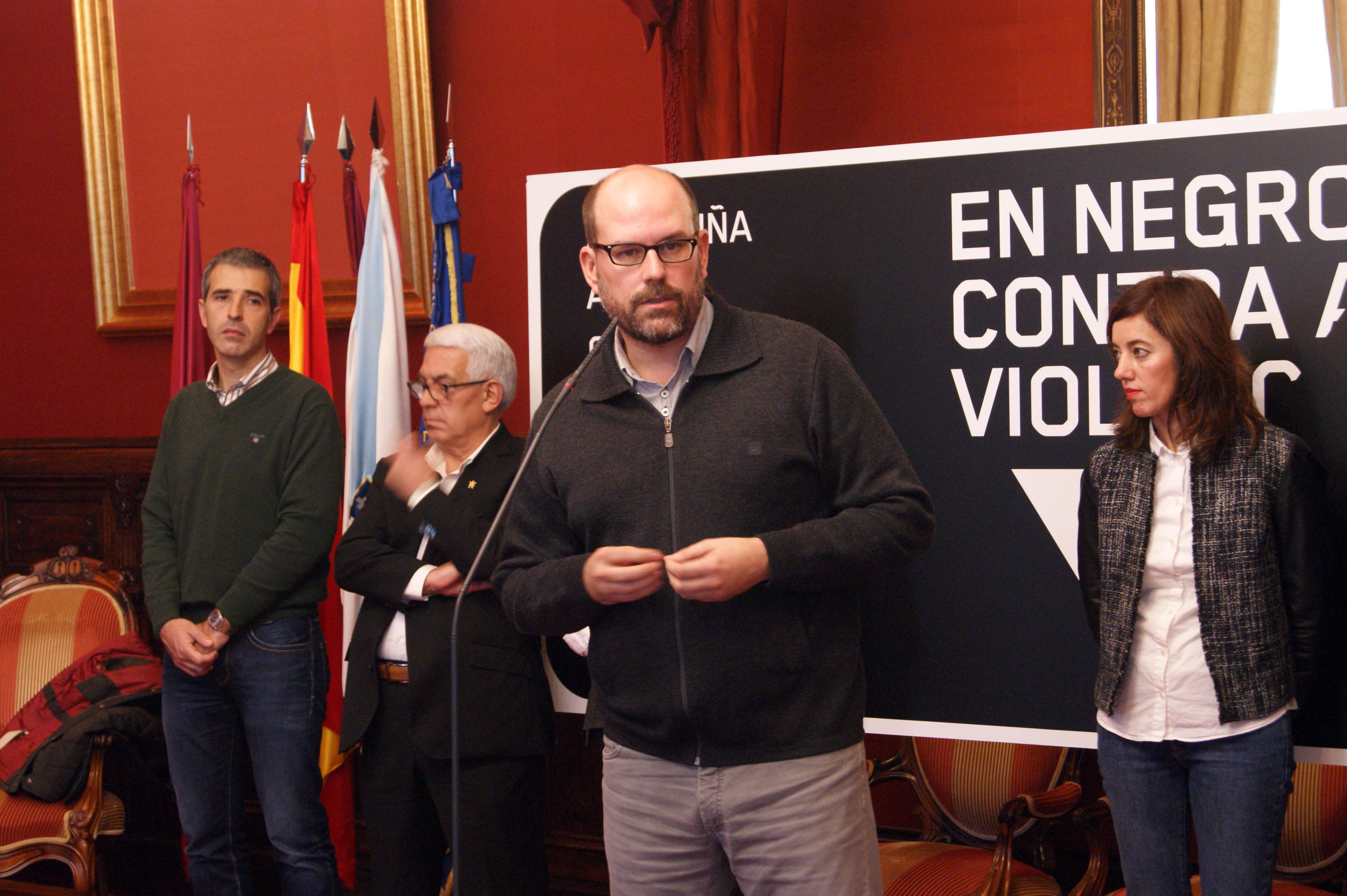 Intervención do alcalde compostelán.