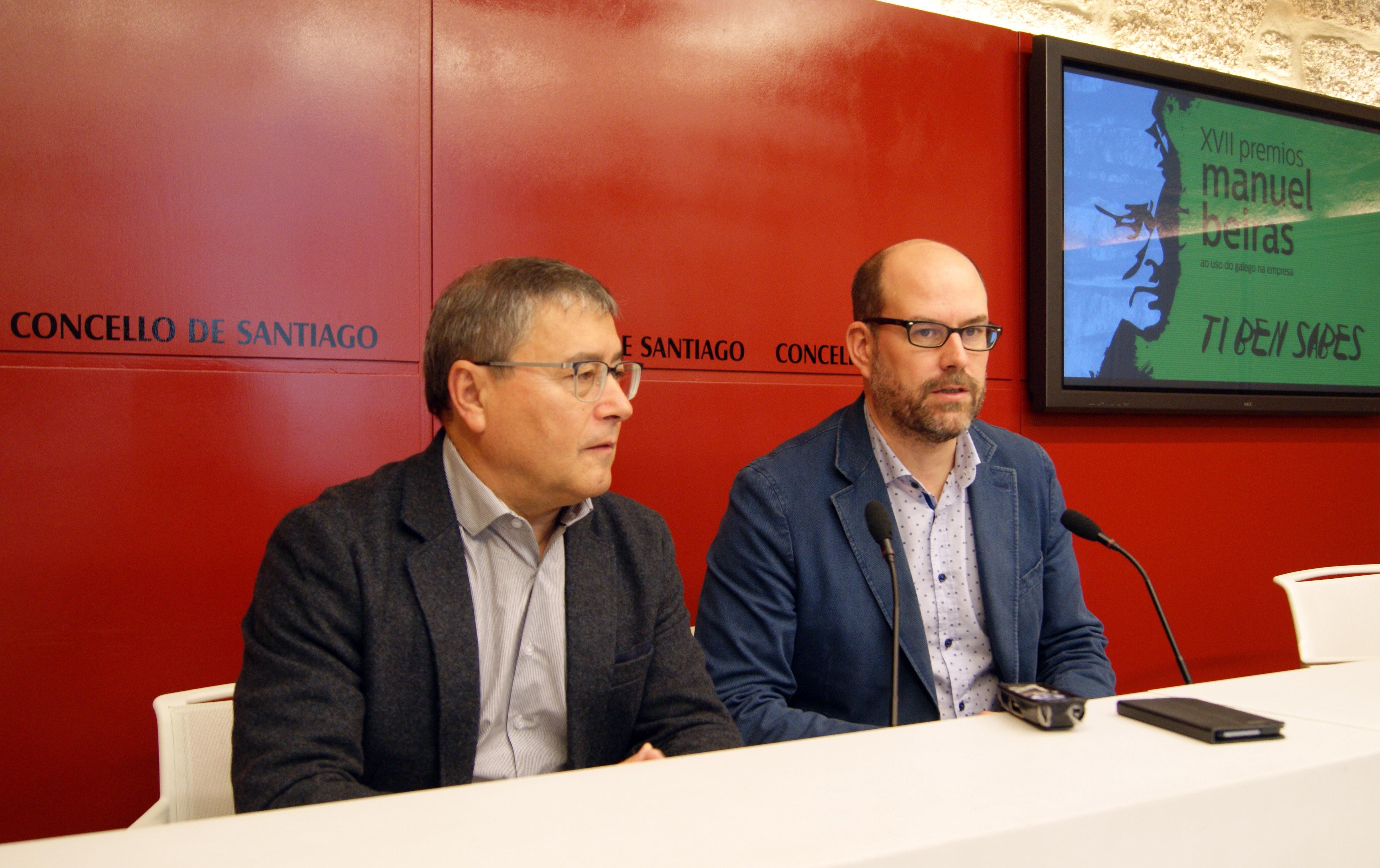 Evaristo Rodríguez e Martiño Noriega.