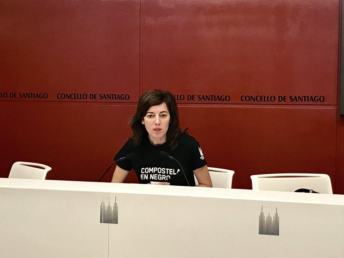 Marta Lois nun momento da presentación