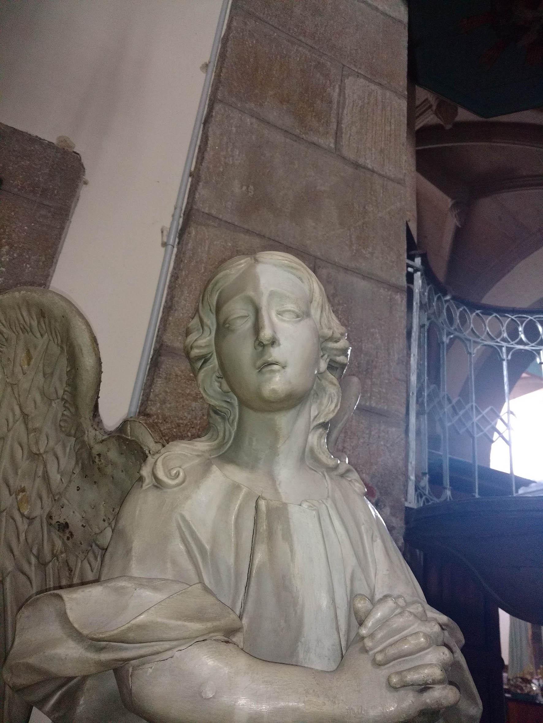 Outra das imaxes do retablo.