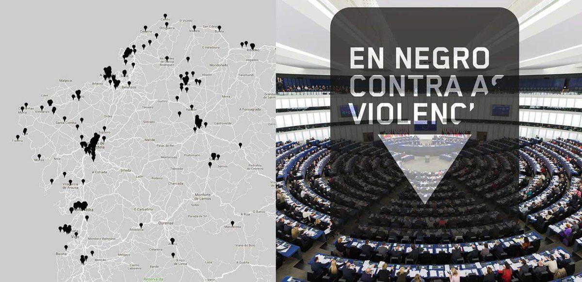 A campaña chega agora tamén ao Parlamento Europeo.
