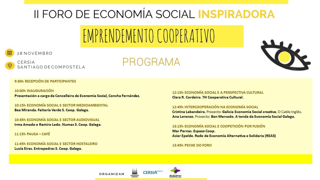 Programa II Foro Economía Social Inspiradora