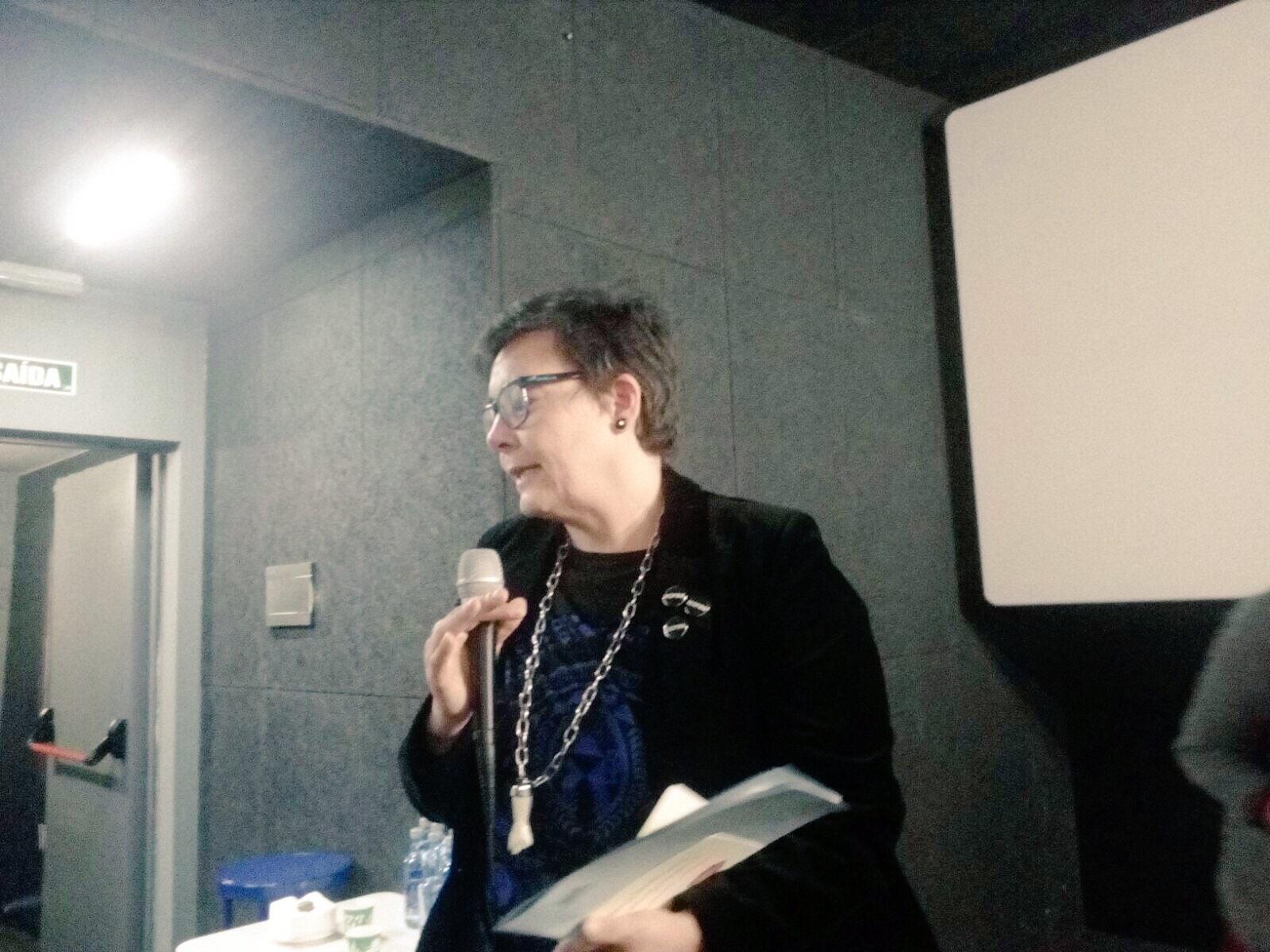Concha Fernández na Sala Numax.