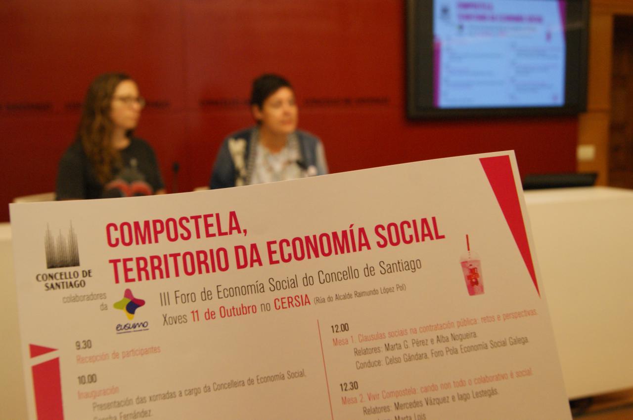 O CERSIA acolle o vindeiro 11 de outubro o III Foro de Economía Social