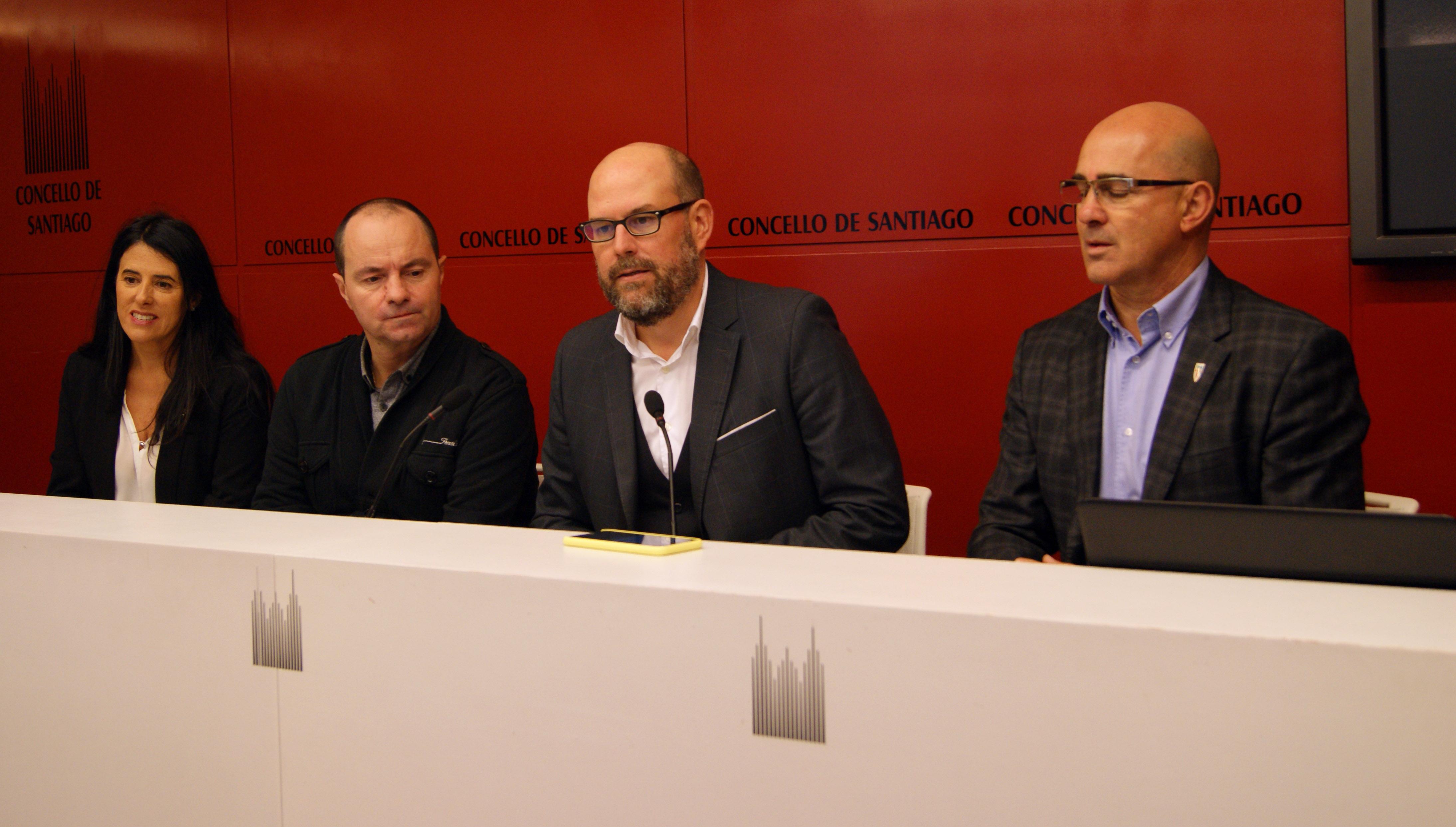 Lupe Murillo, Toño Bermúdez, Martiño Noriega e Antonio Quinteiro.