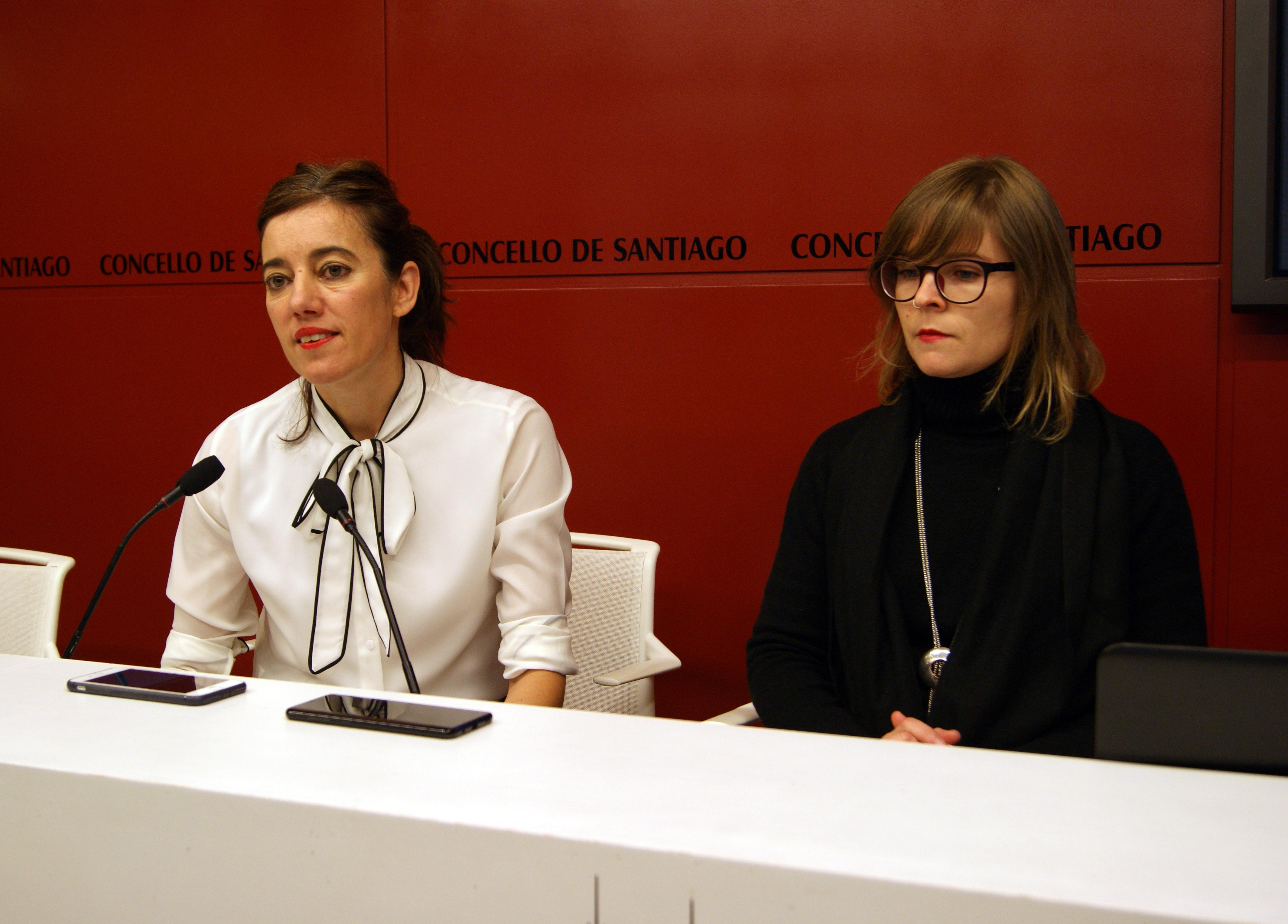 Marta Lois e Tania Merelas.