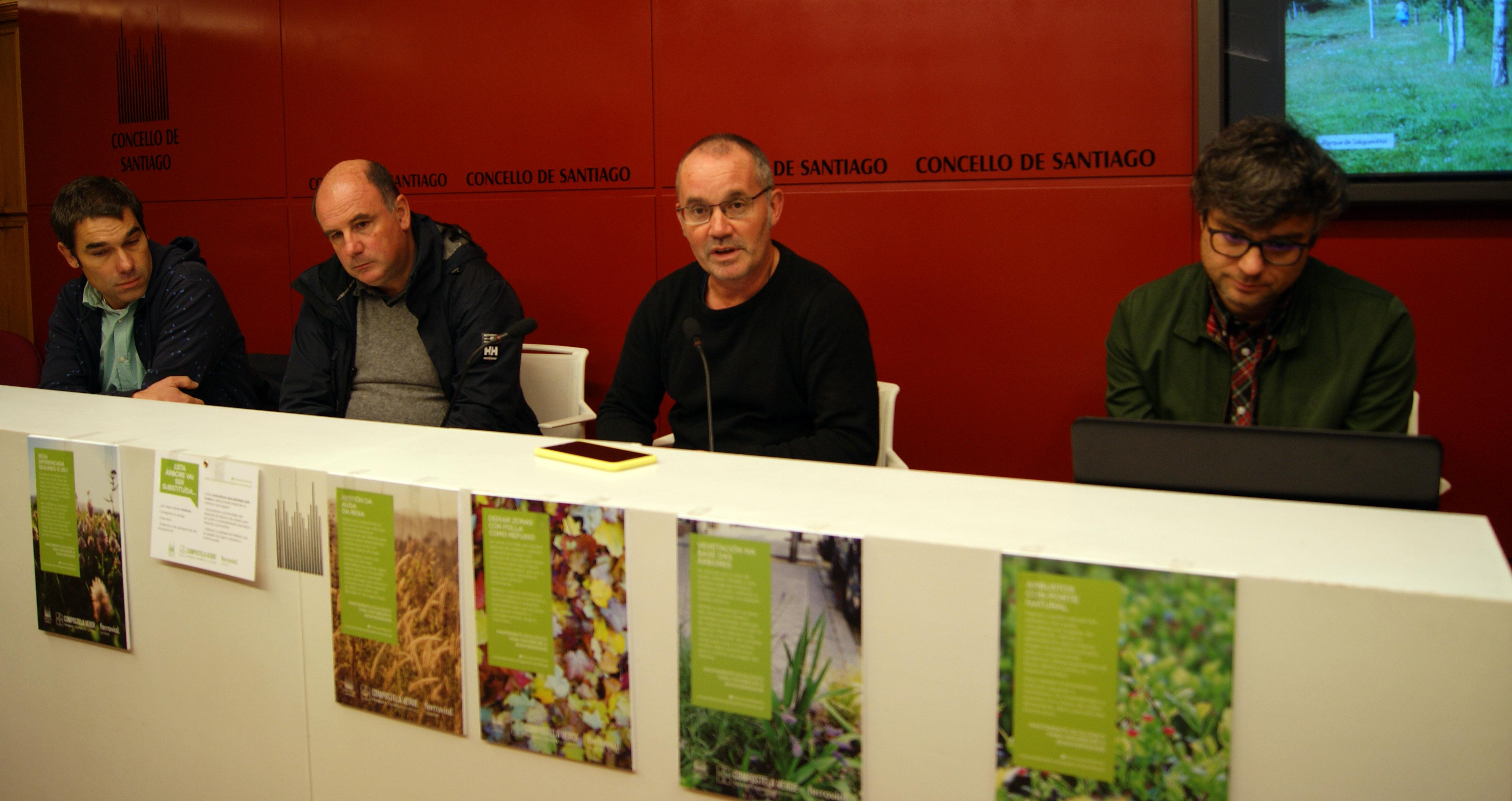 Marcos Regueiro, Luis Incera, Xan Duro e Miguel Lois Barreiro.