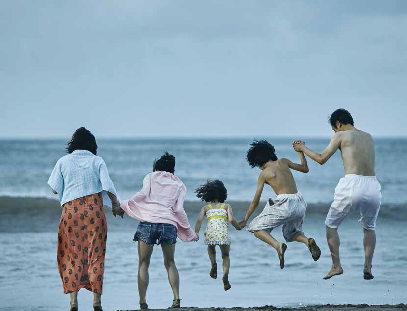 """""""Un asunto de familia"""", premiado filme de Hirokazu Kore-eda."""