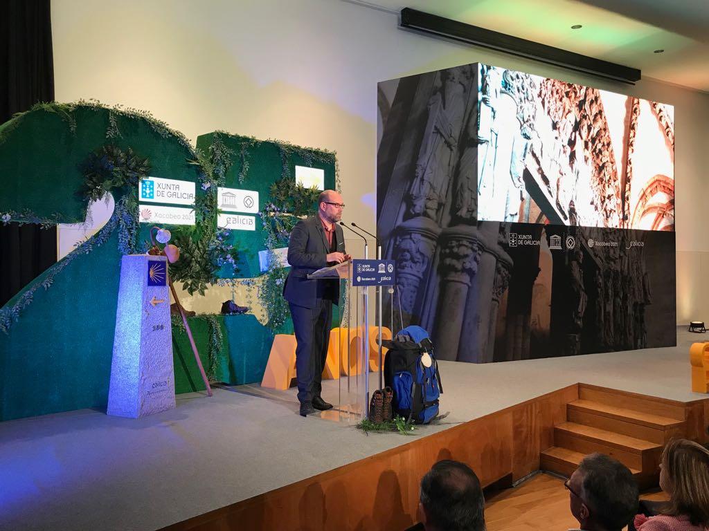 Intervención de Martiño Noriega no acto celebrado no CGAC.