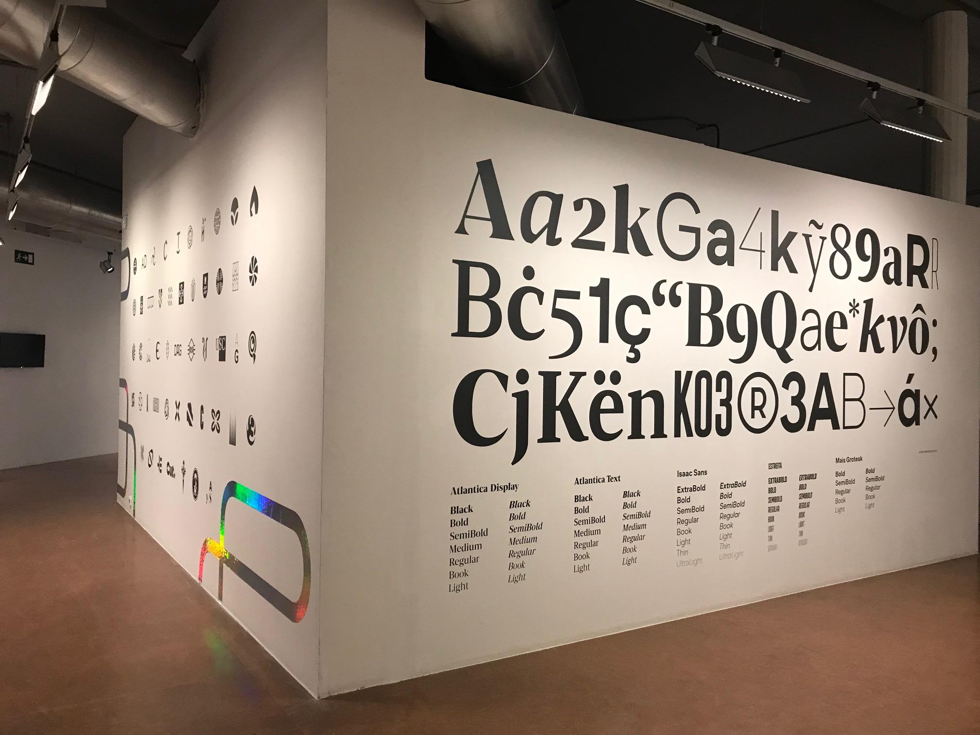 Outro espazo da exposición que se poderá ver no Auditorio de Galicia.