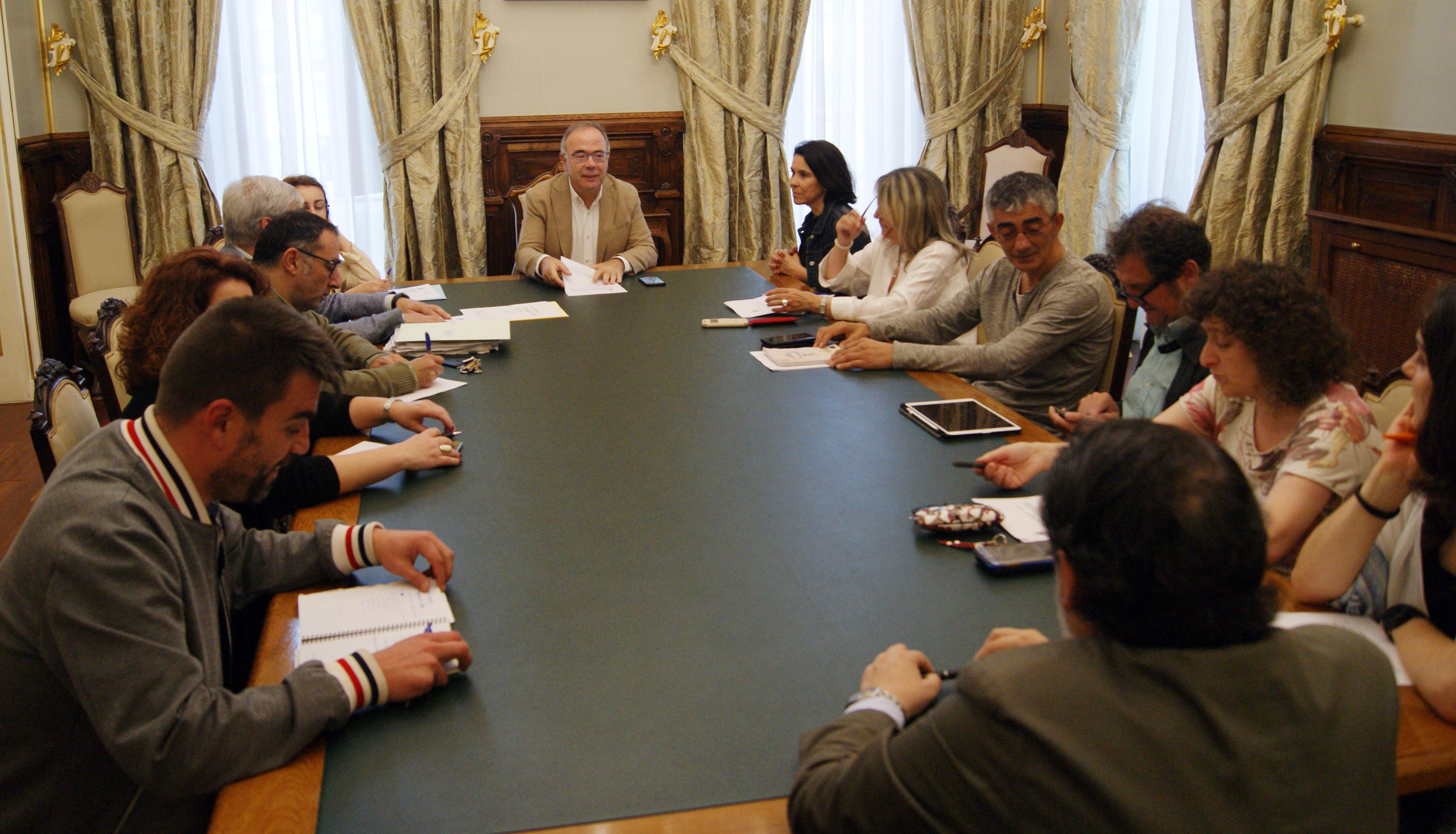 Reunión inicial da Comisión de Urbanismo, Infraestruturas, Vivenda, Medio Ambiente, Medio Rural e Servizos.