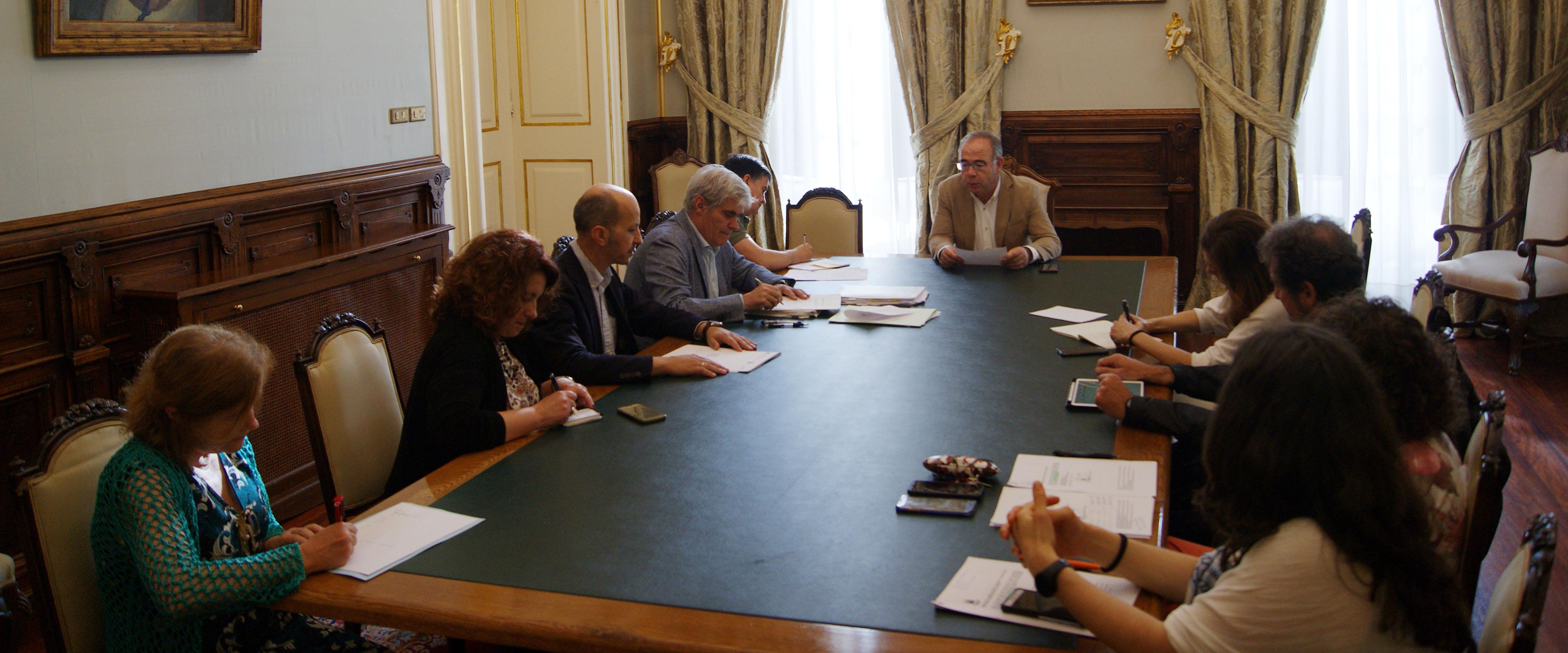 Formación da comisión Especial de Suxestións e Reclamacións.