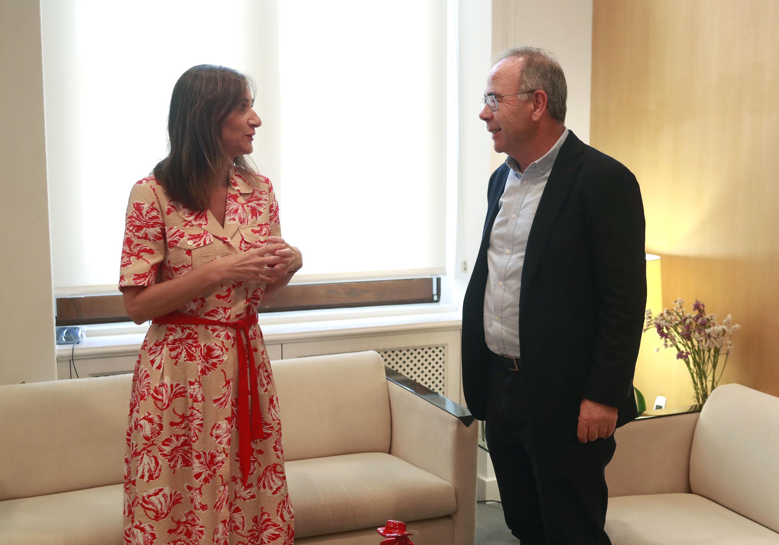 Carmen Pomar e Xosé Sánchez Bugallo.