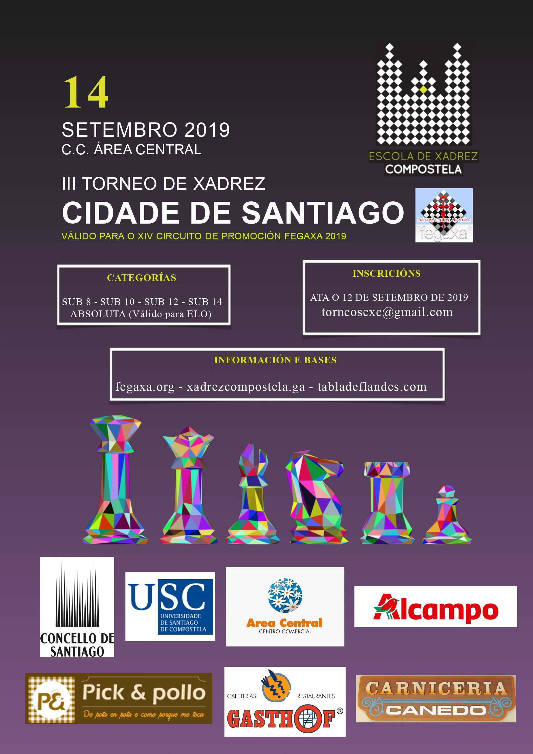 Cartel do torneo.