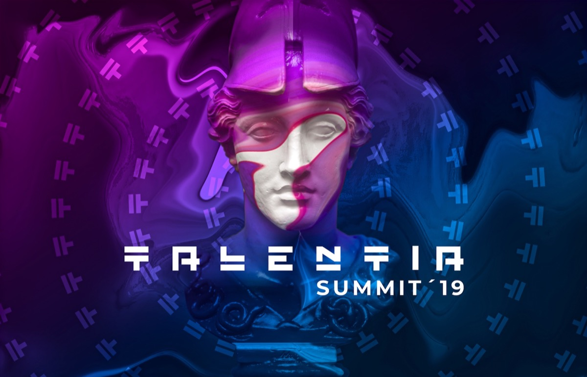 Cartel promocional de Talentia Summit.