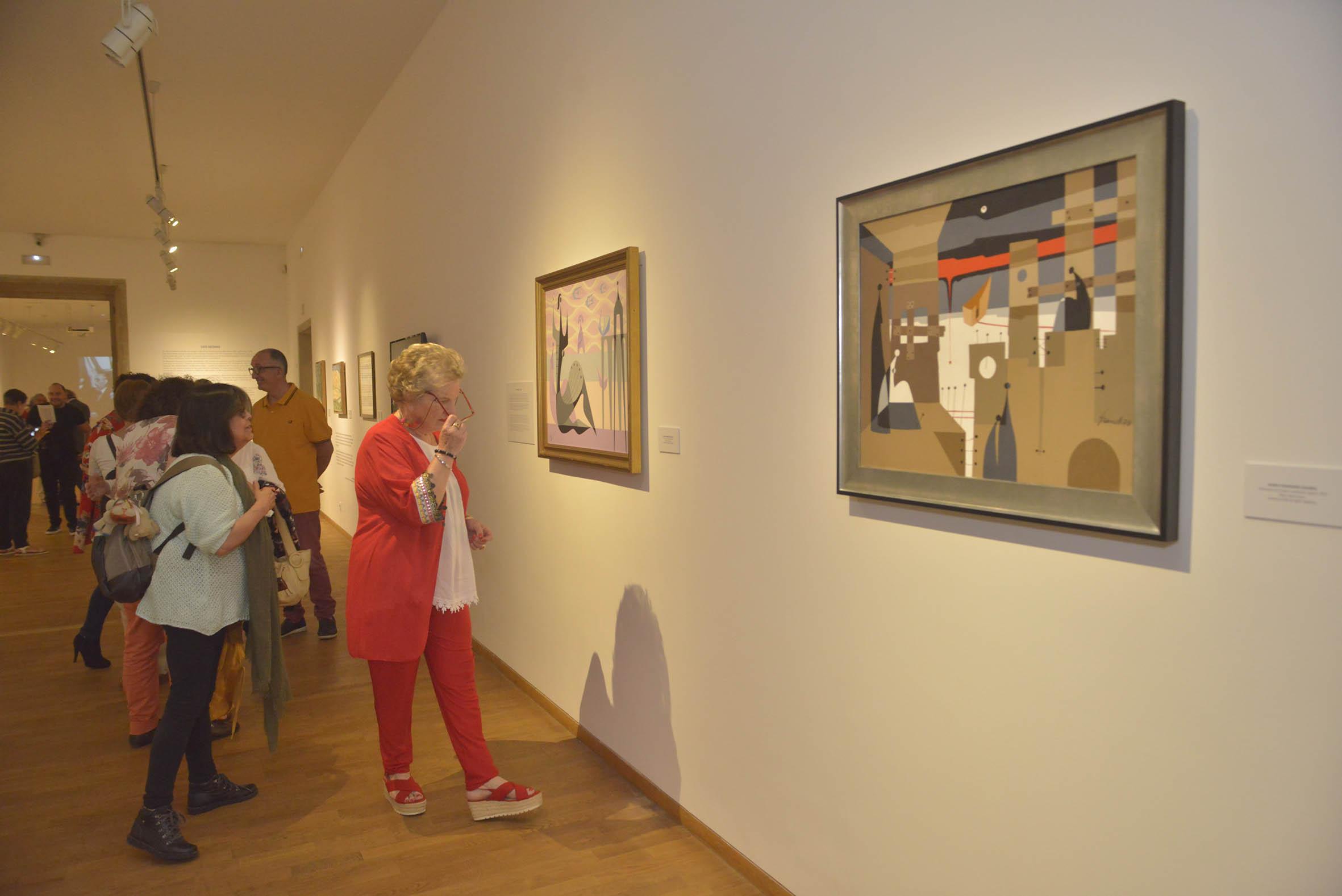 """""""Figurando lembranzas"""" mostra aberta ata este sábado na Fundación Granell."""