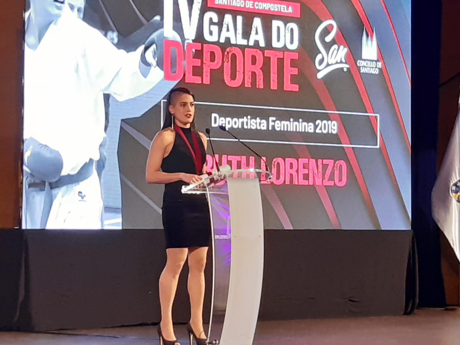 A karateka Ruth Lorenzo, premio á mellor deportista feminina