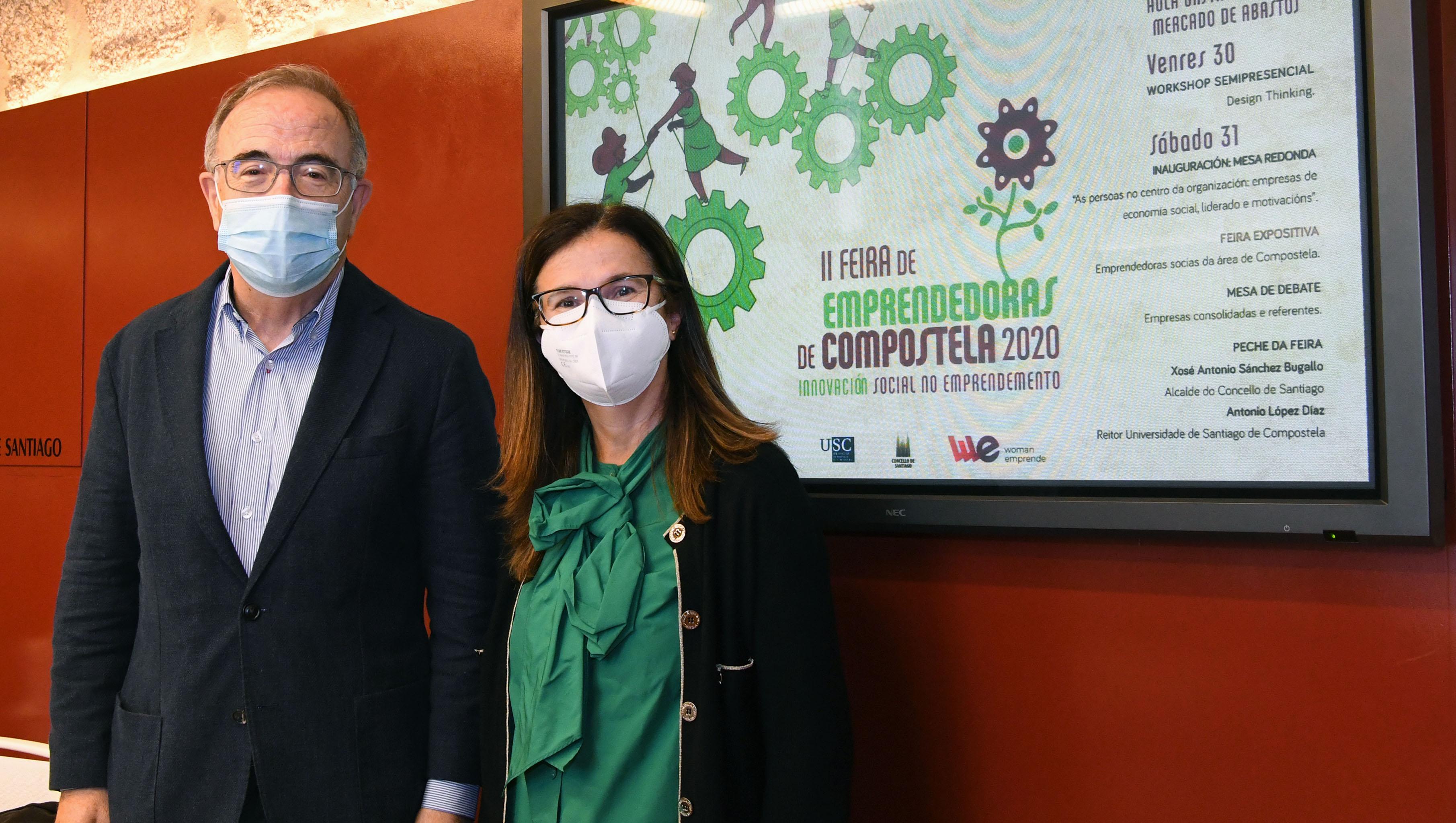 A II Feira de Outubro de Emprendedoras de Compostela profundará na innovación social no emprendemento