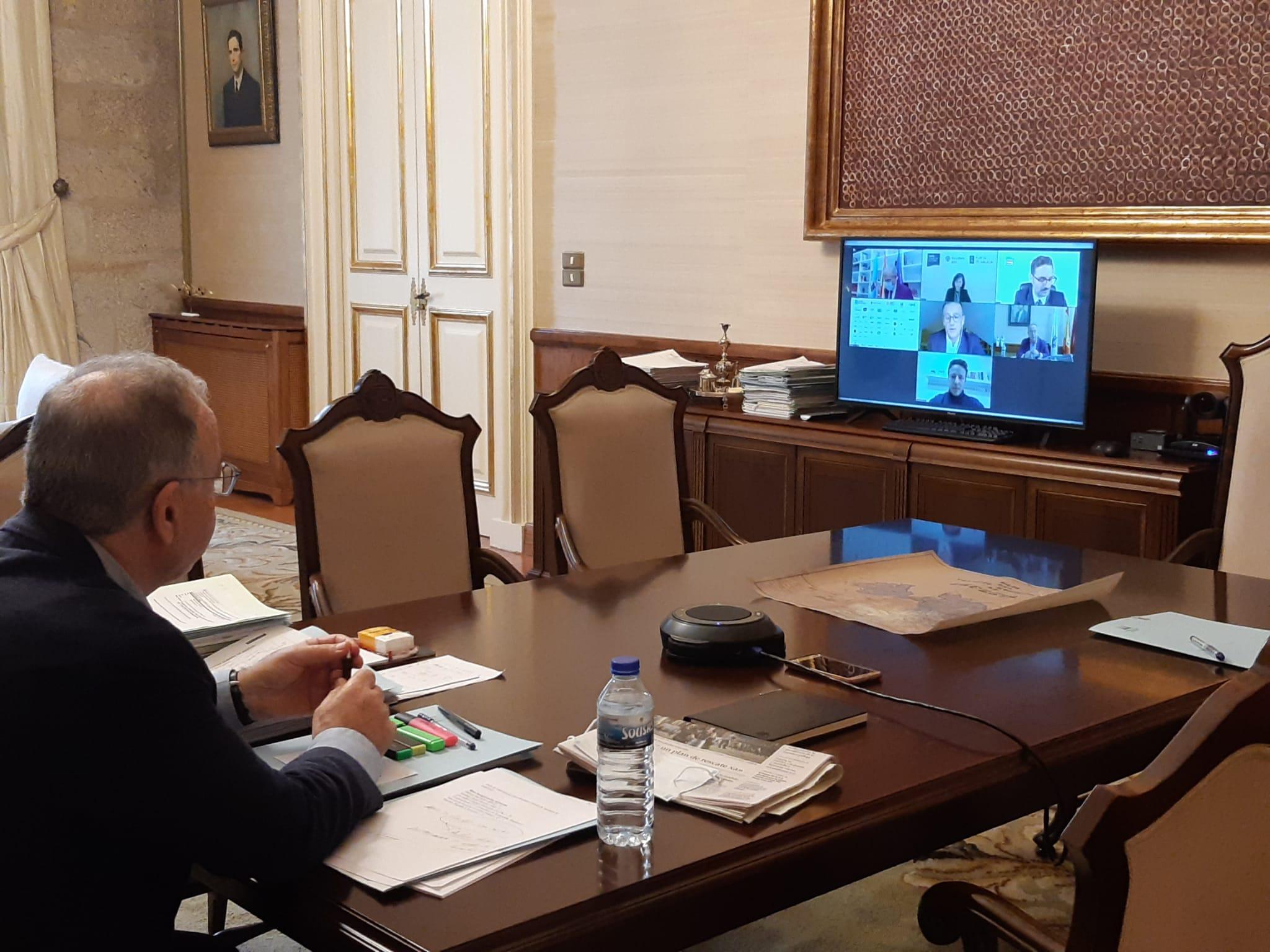Sánchez Bugallo reivindica a aposta de Santiago pola innovación e as novas tecnoloxías, dous elementos clave que definirán o futuro despois da crise sanitaria