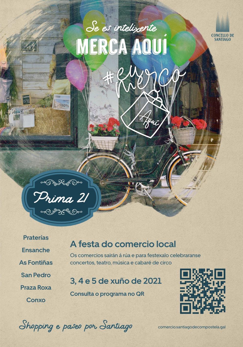 Arranca Prima 21, a festa do comercio local